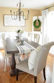 Diy Farmhouse Kitchen Table I Heart Nap Time Modern Farmhouse Dining Room Makeover Little Vintage Nest