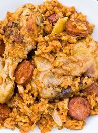cuisine p駻uvienne riz au poulet et chorizo d ethné de vienne ricardo