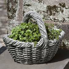 small basket with handle garden planter jpg v u003d1509018714