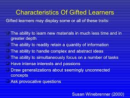 catering for gifted students in unit planning