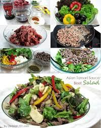asian tamari sauce beef salad atkins diet phase 1 recipe diet