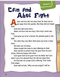 13 cain abel bible crafts activities kids images