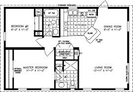 How Big Is 1100 Square Feet 800 To 999 Sq Ft Manufactured Home Floor Plans Jacobsen Homes