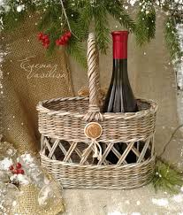 What To Put In A Wine Basket Best 25 Wine Baskets Ideas On Pinterest Wine Gift Baskets
