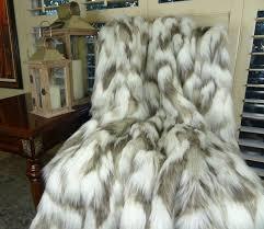 Cheap Faux Fur Blanket Faux Fur Arctic Fox Blanket Sham Pier 1 Imports Bedding Comforter