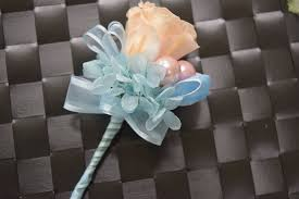 blue boutonniere boutonniere wrist corsage set bwc15 light blue