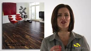 what is solid wood flooring