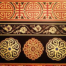 mongolian ornamentation design patterns