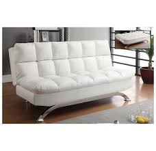 modern futons whi sussex futon white 108 485wt modern furniture