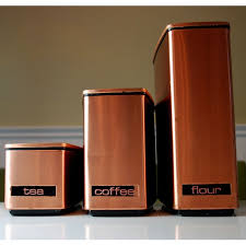 copper kitchen canister sets recipes for the retro kitchen everything in its place