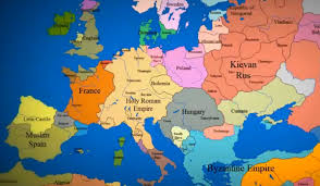 russia map border countries 1000 years of european borders change in 3 minutes