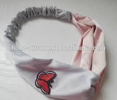 hair bands for women fashion butterfly cross elastic hair band korean hair