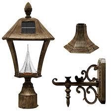 outdoor light pole mount pole mount outdoor light fixtures amazon com