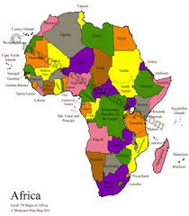 map with labels 19 best study of africa images on africans geography