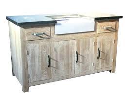 meuble cuisine pin massif meuble bas evier cuisine introduceapp me