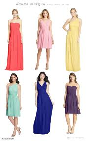 donna bridesmaid dresses find the bridesmaid dresses at nordstrom