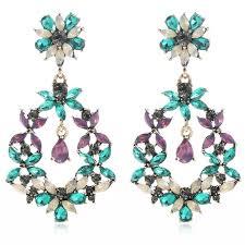 gunmetal chandelier earrings white gold dangle earrings promotion shop for promotional white