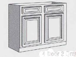 Standard Kitchen Cabinet Dimensions Tag For Kitchen Sink Base Cabinet Size Nanilumi