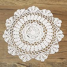 napperon de cuisine king do way napperon dentelle crochet rond en coton décor table