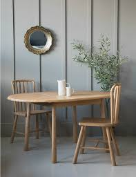 nordic round extending dining table at rose u0026 grey