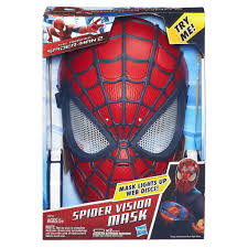 amazon com marvel the amazing spider man 2 spider vision mask