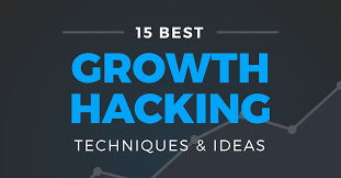 hacking ideas 15 winning growth hacking techniques strategies infographic