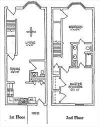 two bedroom townhouse u2013 bedroom at real estate