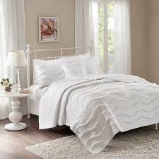rebecca 6 piece quilted coverlet set by park hayneedle