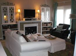 Where To Place Tv In Living Room Perfect Tv Over Fireplace Where To Put Cable Box On Mirror To