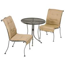 Patio Furniture Chair Glides Exterior Enchanting Sling Patio Furniture Sets By Woodard
