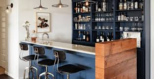 Outdoor Bar Cabinet Doors Bar Interior Wonderful Dark Brown Wood Textured Sliding Barn