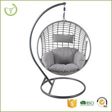 Fauteuil Suspendu Oeuf by Hl Cs 16004 Rotin Oeuf Swing Chaise Avec Coussin Kd Construction