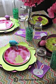 Easter Table Decor Frugal Easter Table Decor Ideas