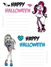 Halloween Monsters For Kids by How To Craft Monster High Invitation Hellokids Com