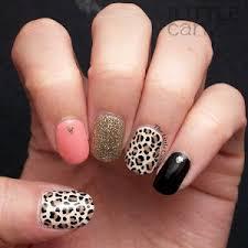 crazy leopard nails the little canvas