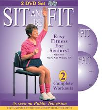 Gym Chair As Seen On Tv Amazon Com Sit And Be Fit Easy Fitness For Seniors Complete
