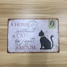 home sign decor sign cat promotion shop for promotional sign cat on aliexpress com