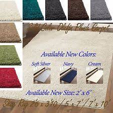 Solid Color Area Rugs Clearance Teal Rug Ebay