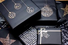 black wrapping paper best 25 black wrapping paper ideas on christmas