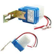 photocell sensor automatic light control switch ac dc 12v 10a auto on off photocell street light sensor switch