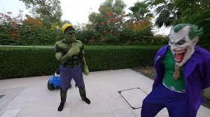 hulk oreo challenge w spiderman mickey mouse spiderbaby youtube