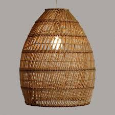 world market pendant light basket weave bamboo pendant shade world market