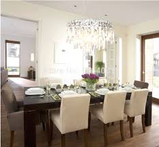contemporary crystal dining room chandeliers lightings and lamps