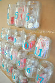 advent calender from recycled baby food jars craft o maniac