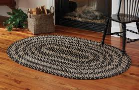 Braided Rugs Country Rugs Kendrick Braided Oval Rug 48
