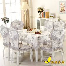 lace chair covers hot sale pastoral square table cloth chair covers cushion tables