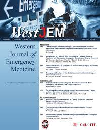 volume 12 issue 2 by western journal of emergency medicine issuu