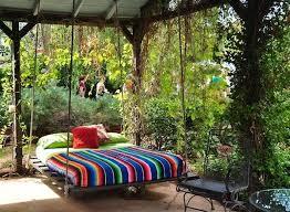outdoor floating bed 13 comfy outdoor swing bed designs rilane