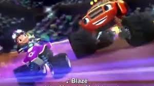 monster trucks for kids blaze blaze and the monster machines dinosaur parade nickelodeon cartoon