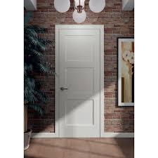 3 Panel Exterior Door 3 Panel Interior Shaker Door With Flat Panels International Door